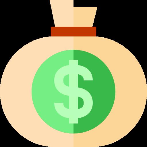Banking, Money Bag, Dollar Symbol Icon