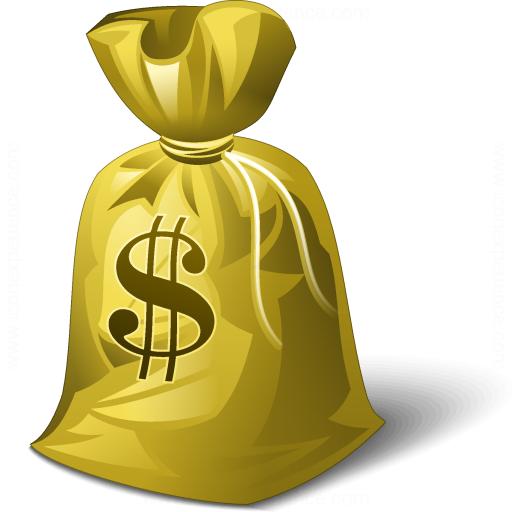 Iconexperience V Collection Moneybag Dollar Icon