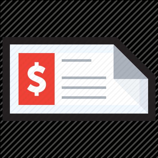 Check, Checking, Cheque, Deposit, Fees, Installment, Money Icon