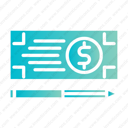 Download Bank,check,payment Icon Inventicons