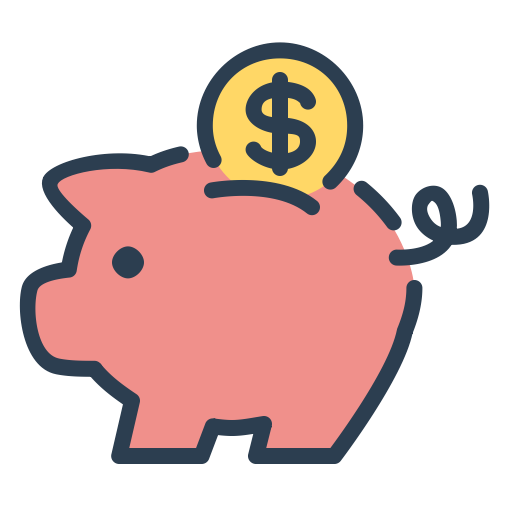 Coin, Money, Piggy, Resolutions, Save Money, Savings Icon Free