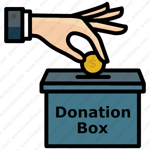Download Donation,donation Box,bank,financial,money Icon Inventicons