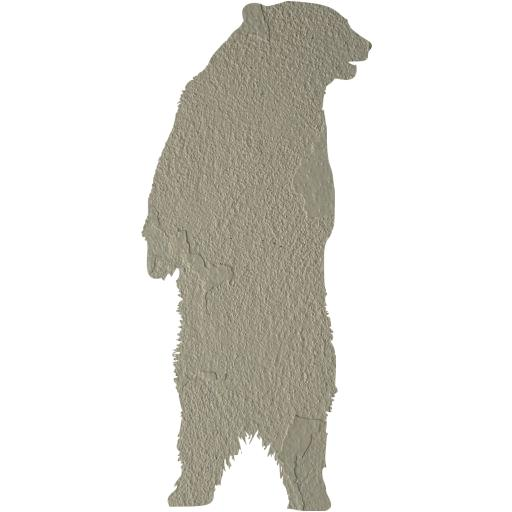 Concrete Bear Icon