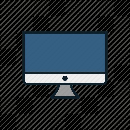 Computer Monitor, Computer Screen, Desktop, Monitor Icon