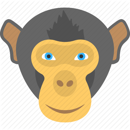 Animal Face, Black Monkey, Face Of A Monkey, Monkey Face, Smiling