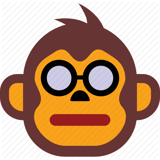 Emoji, Emoticon, Emoticons, Expression, Face, Monkey Icon