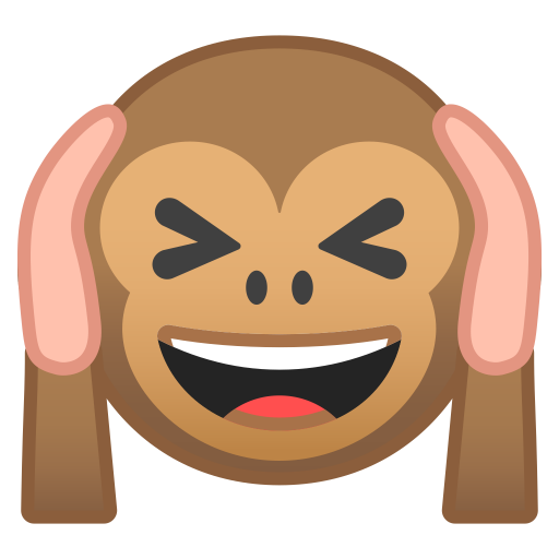 Hear No Evil Monkey Icon Noto Emoji Smileys Iconset Google