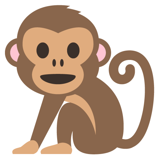 Monkey Emoji For Facebook, Email Sms Id