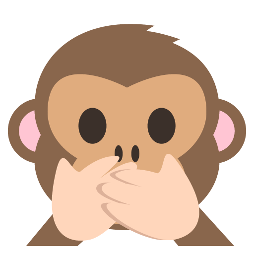 Speak No Evil Monkey Emoji Vector Icon Free Download Vector