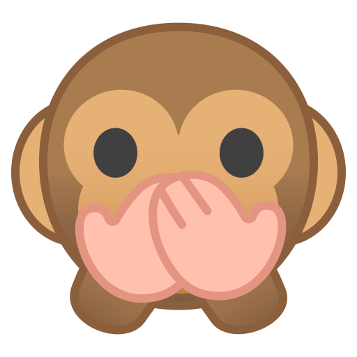 Speak No Evil Monkey Icon Noto Emoji Smileys Iconset Google