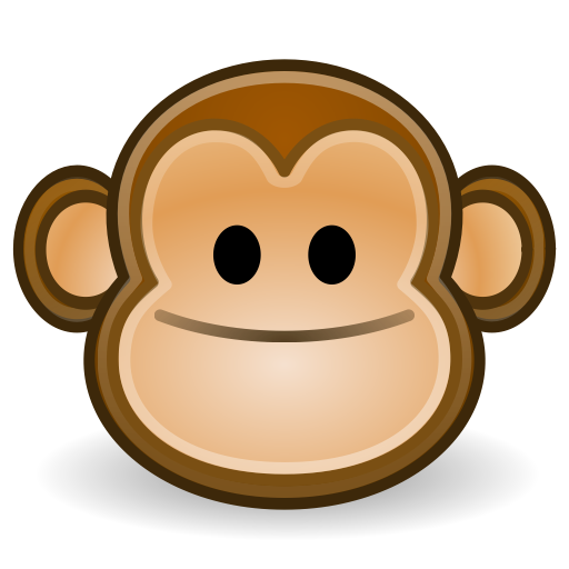 Monkey, Face Icon