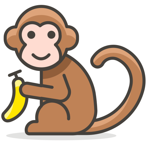 Monkey, Animal Icon Free Of Another Emoji Icon Set