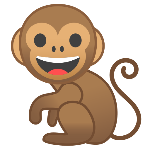 Monkey Icon Free Of Noto Emoji Animals Nature Icons
