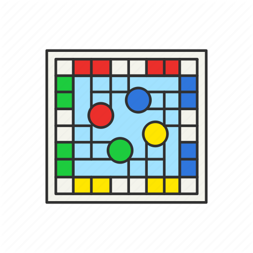 Boardgames, Games, Monopoly, Sorry Game, Square Board Icon