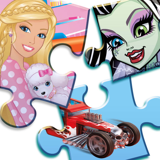 Mattel Fun With Puzzles Featuring Monster And Hot