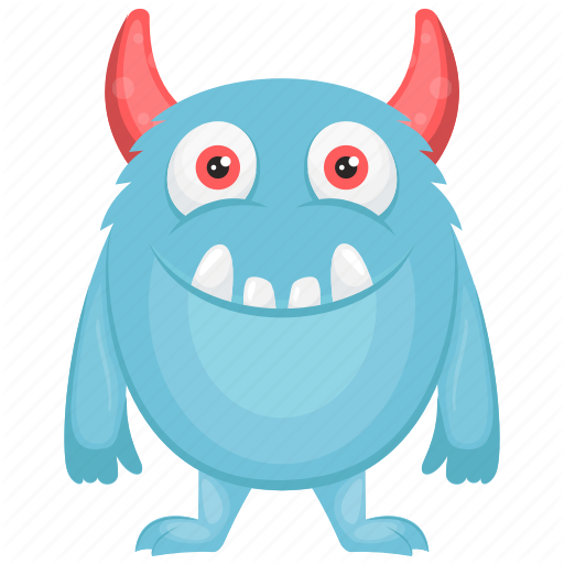 Blue Monster, Oni Blue Cartoon, Oni Blue Character, Oni Costume