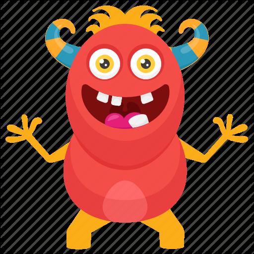 Cute Monster, Insect Monster, Monster Cartoon, Monster Character