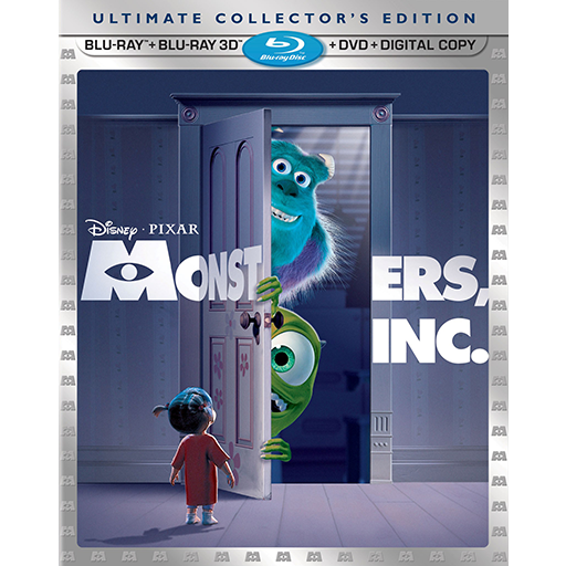 Monsters Inc Blu Ray Icon