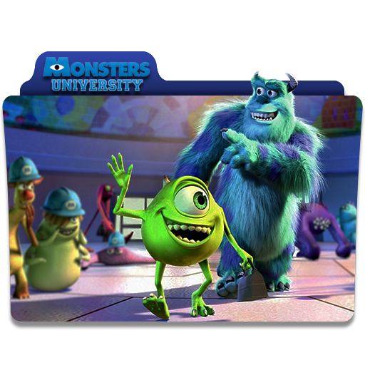 Monsters Inc Folder Icon
