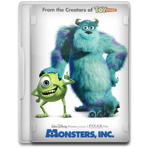 Monsters Inc Icon Movie Mega Pack Iconset