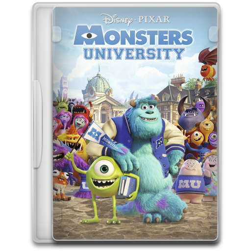 Monsters University Icon Movie Mega Pack Iconset