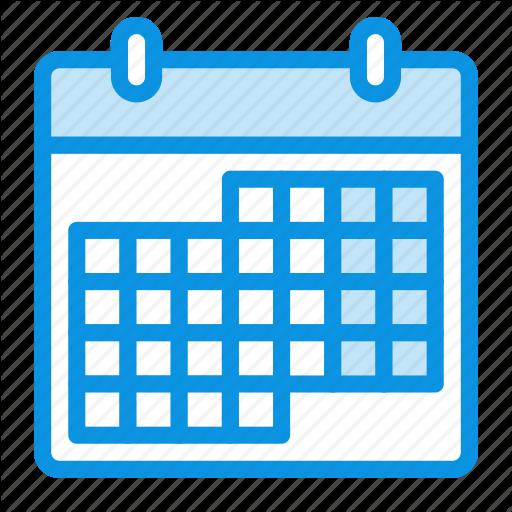 Calendar, Month Icon