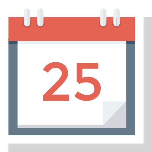 Schedule Icon, Calendar, Date, Month Icon