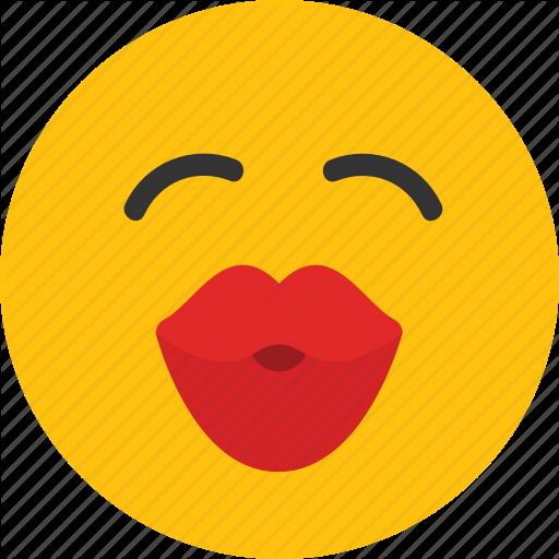 Emoji, Kiss, Kissing, Love, Mood Icon