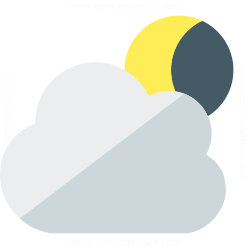 Iconexperience G Collection Cloud Moon Icon