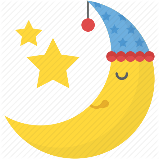 Moon And Stars, Nature, Party Night Concept, Pleasant Night