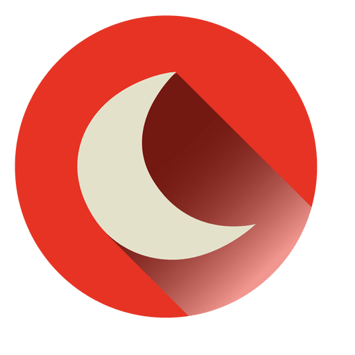 Moon Round Icon