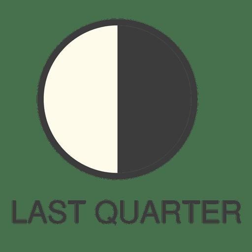 Moon Last Quarter Icon
