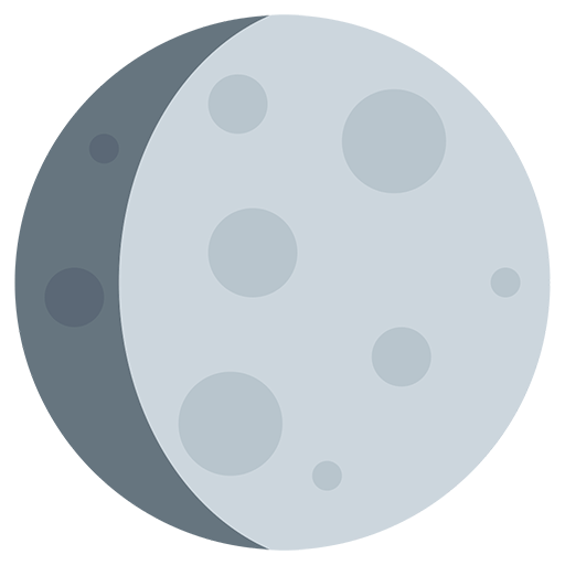 Waxing Gibbous Moon Symbol Emoji For Facebook, Email Sms Id