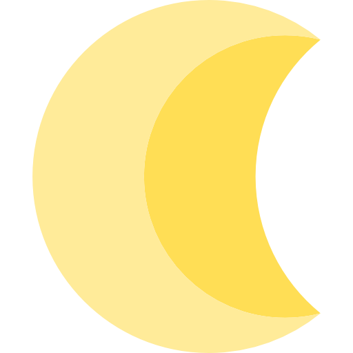 Half Moon, Astronomy, Nature, Moon Phase, Meteorology, Moon Icon