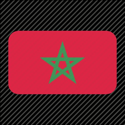 African Flag, Flag Icon, Morocco, Morocco Flag Icon