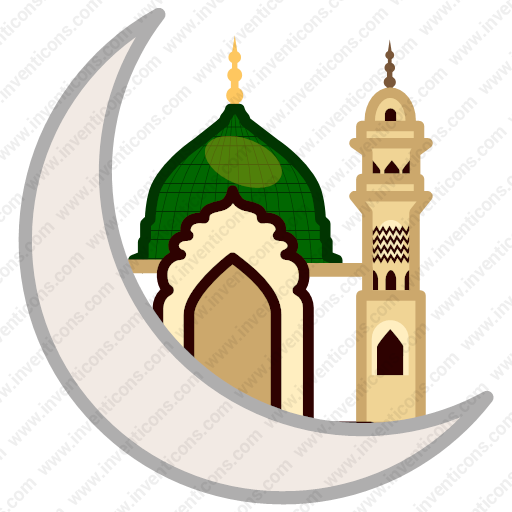 Download Islam,moon,mosque,muslim,ramadan Icon Inventicons