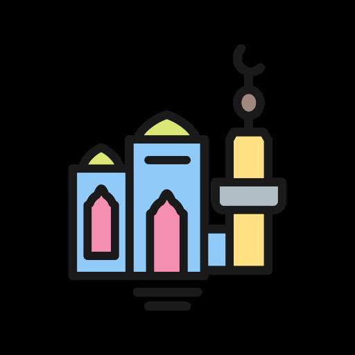 Mosque, Islamic, Islamic Mosque Icon