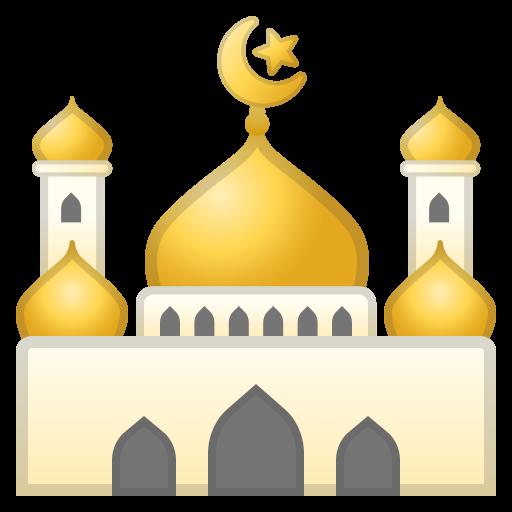 Mosque Icon Noto Emoji Travel Places Iconset Google