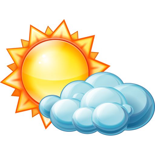 Weather Channel Mostly Sunny Icon Images