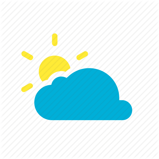 Pictures Of Mostly Sunny Weather Icon