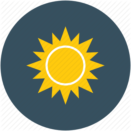 Pictures Of Sunny Weather Icon