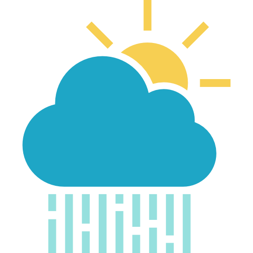 Rainy, Storm, Meteorology, Rain, Morning Rain, Weather, Sky Icon