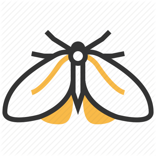 Animal, Bug, Insect, Moth Icon