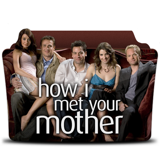 How I Met Your Mother Icon Tv Series Folder Pack Iconset