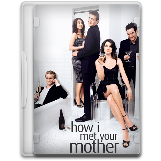 How I Met Your Mother Icon Tv Show Mega Pack Iconset