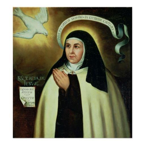 Best Theresa Of Avila Images Catholic Saints