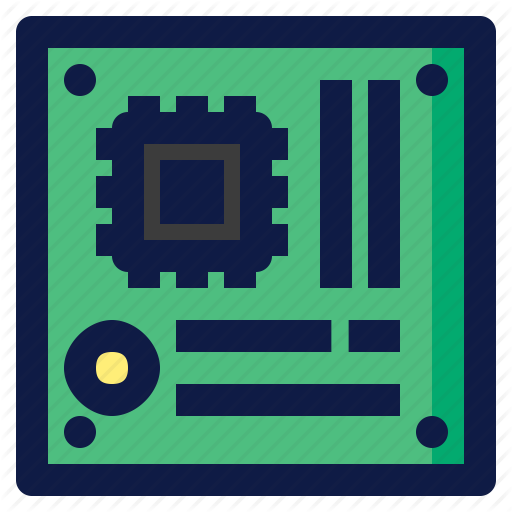 Component, Computer, Hardware, Mainboard, Motherboard Icon