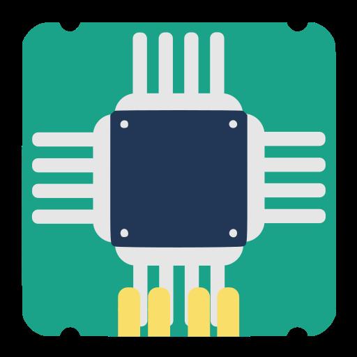 Jockey, Chipset, Hardware Icon Free Of Super Flat Remix Apps