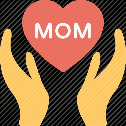 Greeting Card, Love Regards, Loving Mom, Mom Heart, Mother Day
