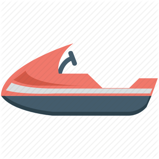 Jet Boat, Motorboat, Powerboat, Water Boat, Water Motorbike Icon